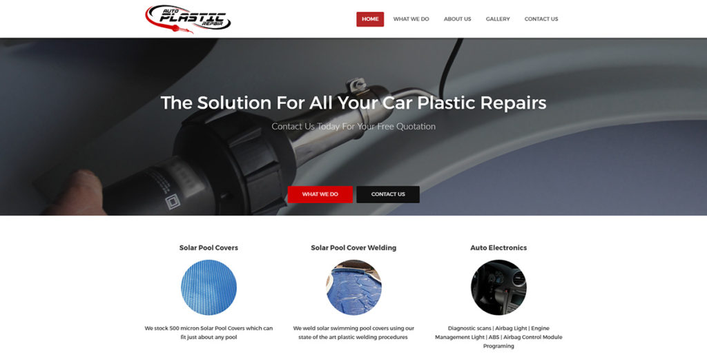 Auto Plastic Repair Center